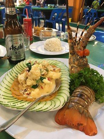 Welcome Seafood Restaurant Australian Lobster In Er Cream Sauce
