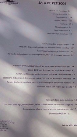 Reguengos de Monsaraz, Portugal: Restaurante Esporao