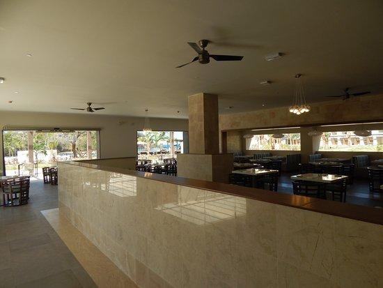Cap Estate, Sta. Lucía: Italian restaurant dining