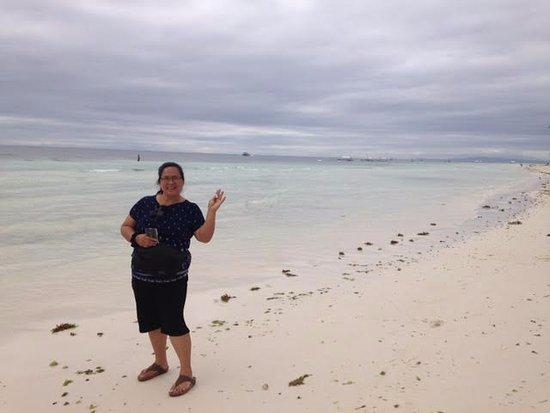 Dauis, ฟิลิปปินส์: Panglao Beach, Bohol.