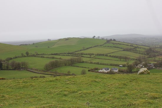 County Meath, Ireland: view from the top