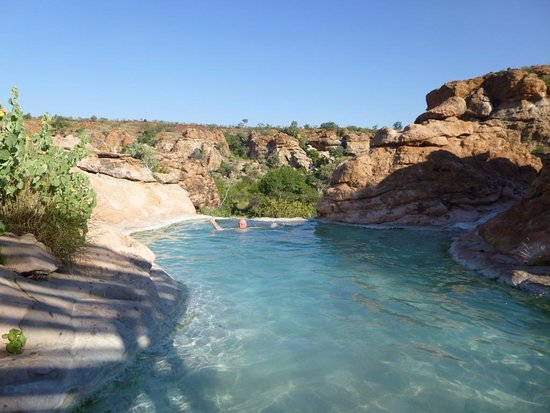 Mapungubwe National Park, Sudafrica: Pool - Leokwe Camp