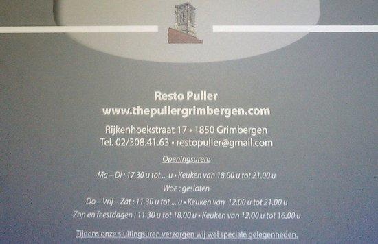 Grimbergen, Belgia: openingsuren