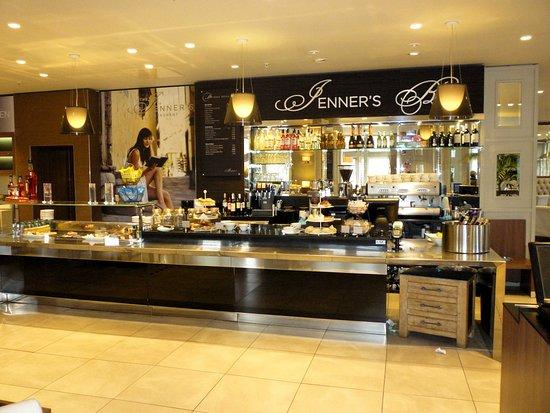 Jenners Main Restaurant Edinburgh Princes Street And
