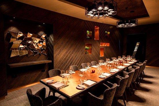 M, Victoria Street: La Plume, Private Dining Room