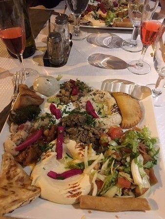 Tour d'horizon de la cuisine Libanaise! - Picture of Mezze du Liban on