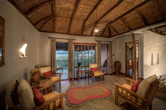 Evolve Back, Kabini: Pool Hut - Living Room