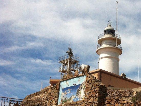 Cabo de Gata, Hiszpania: detalle faro
