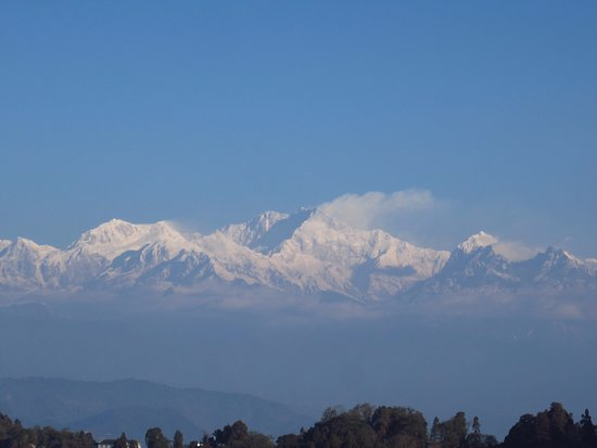 Sinclairs Darjeeling : This is the view from 2nd floor view rooms