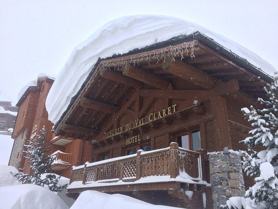 Hotel l'Ecrin du Val Claret : A good week for snow!