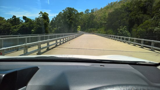 New Bloomfield River bridge