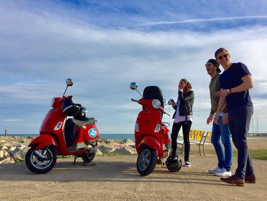 Via Vespa Rent a scooter: Vespas FUN