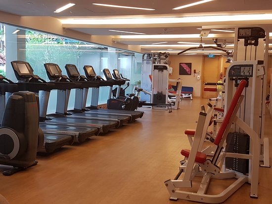 Gym room picture of hotel jen tanglin singapore