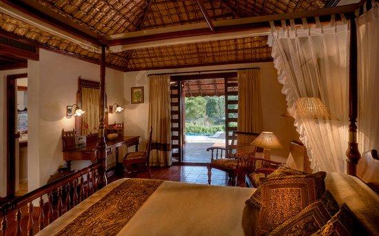 Siddapura, India: Heritage Pool Villa - Bedroom