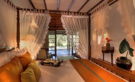 Siddapura, India: Lily Pool Villa - Bedroom