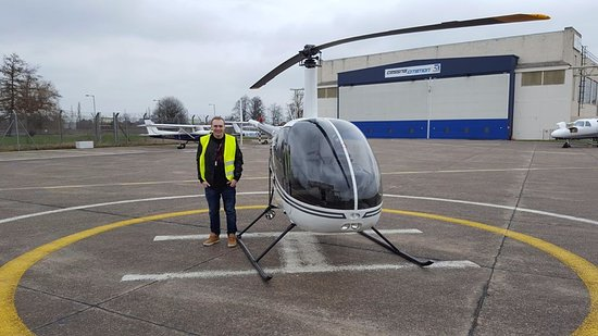 Ready to Land :D - Picture of Hummingbird Helicopters Ltd