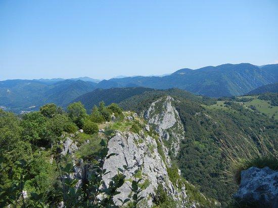 Montsegur, France: A view