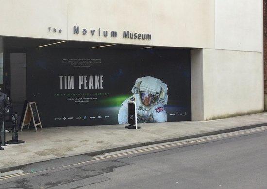 The Novium: The Entrance
