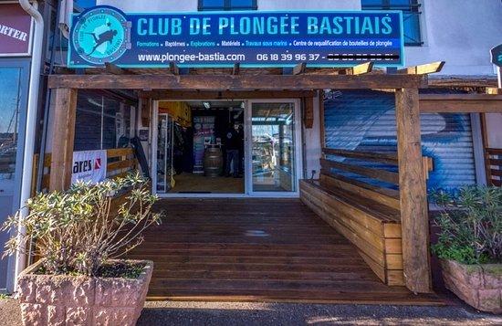 Bastia, France: Entrée du club