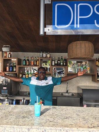 Cap Estate, Saint Lucia: Celcus at Dips pool bar