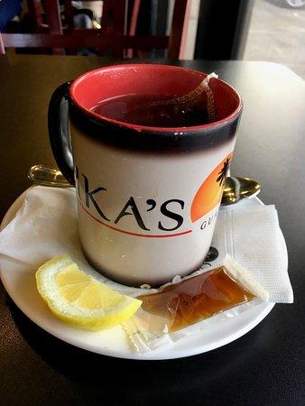ピカズ カフェ, 紅茶アールグレー