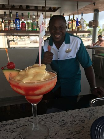 Cap Estate, St. Lucia: Eric will keep them coming...He is the MASTER