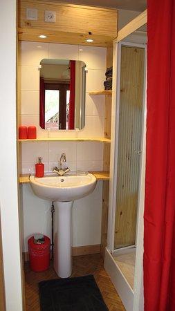 Rombach-le-Franc, Francia: Salle d'eau/wc chambre Luna