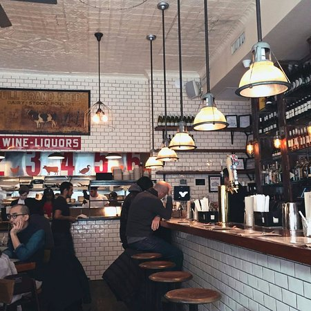 Tof interieur picture of the meatball shop new york for Interieur new york