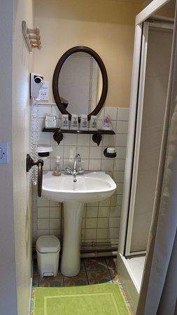 Rombach-le-Franc, Francia: Salle d'eau/wc chambre Lukas