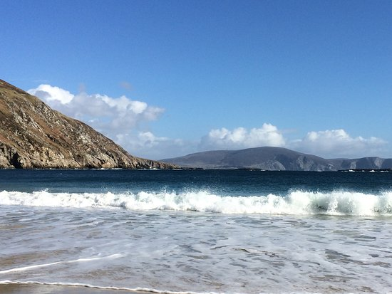 Achill Island, İrlanda: Great day out at Keem Beach