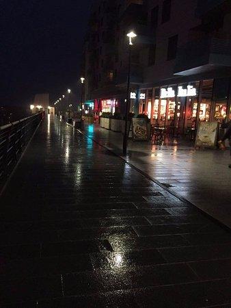 Brighton Marina: Marina in the rain