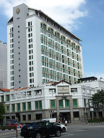 InterContinental Singapore: Outside view of hotel