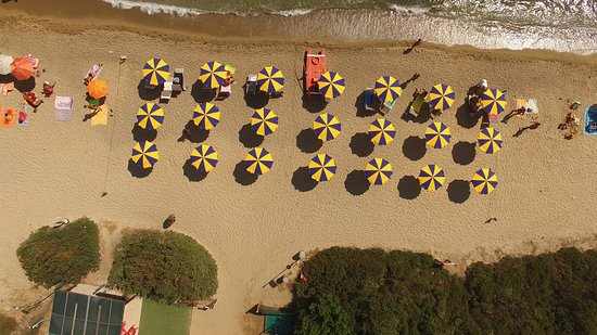 spiaggia del Camping Village Capo D'Orso
