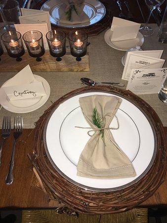 Pleasant Valley Inn : Wine and Food Pairing Dinner... yyuumm