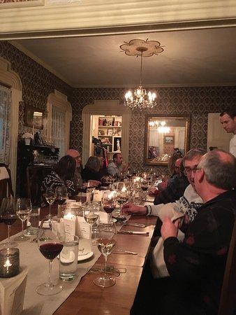 Hammondsport, NY: Wine and Food Pairing Dinner... yyuumm