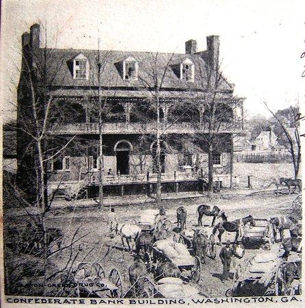 Washington Historical Museum: Site of Jefferson Davis last cabinet meeting 1865