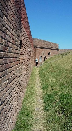 Fort Clinch State Park: Inside Fort Clinch
