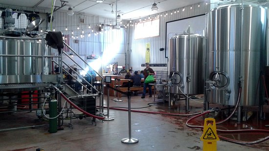 Nisswa, MN: Inside of Gull Dam Brewing