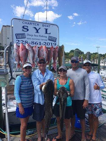 Syl fishing charters biloxi ms anmeldelser tripadvisor for Mississippi fishing charters