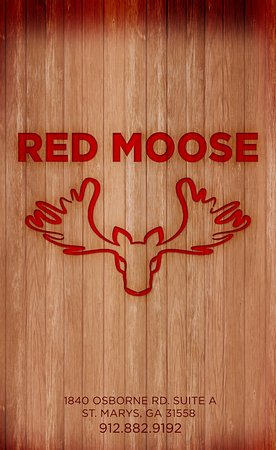 ‪‪St. Marys‬, جورجيا: Red Moose‬