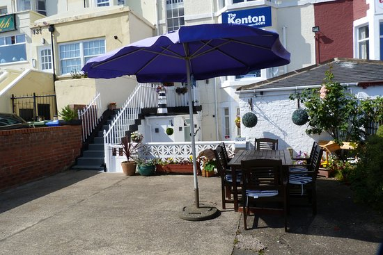 The Kenton: outdoor seating area