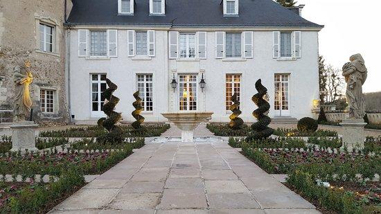 Saint-Etienne-de-Chigny, França: Terrasse