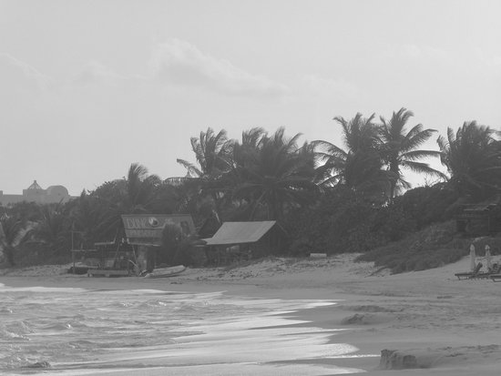 The Valley, Anguilla: View of the Dune Preserve from the beach shows just the tip of the iceberg!