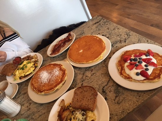 Phoenicia, Nova York: Pancake options