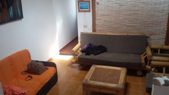 Costanoroeste Surf School: de gezamenlijke woonkamer