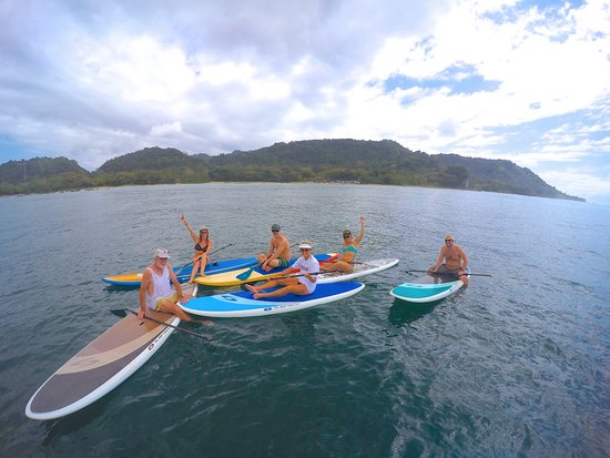Mal Pais Freedom Riding SUP: This is an excellent family activity!
