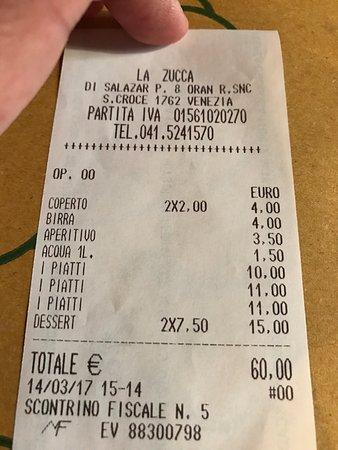Photo of Italian Restaurant La Zucca at Sotoportego Del Tintor 1, Venice 30135, Italy
