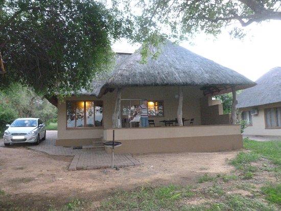 Skukuza Rest Camp: our cabin in Kruger park
