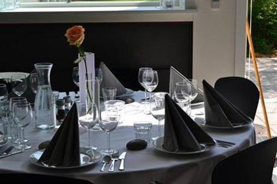 Skaelskoer, Dänemark: Festbord - Kildehuset