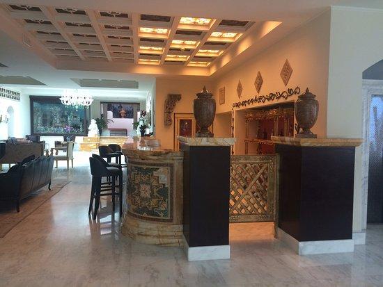 Terme Manzi Hotel & Spa: sala d'attesa
